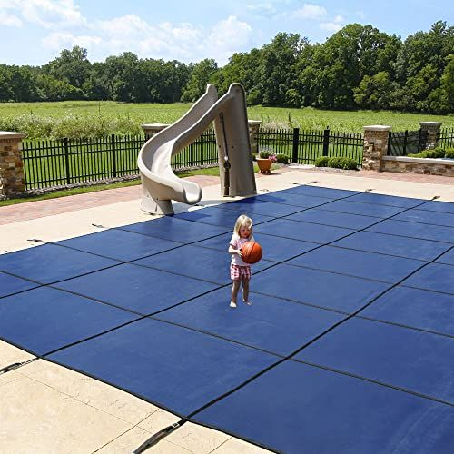 Blue Wave Pool Cover In 2020 Pool Safety Covers Pool Landscaping Backyard Pool Landscaping