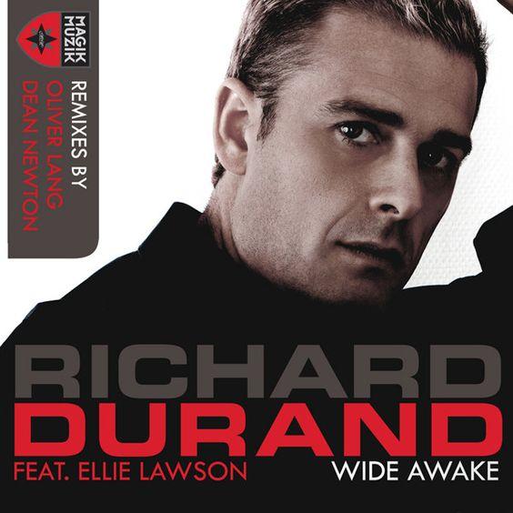 Richard Durand, Ellie Lawson – Wide Awake (single cover art)