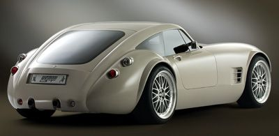 Apparently these drive like a dream. Wiesmann Coupe
