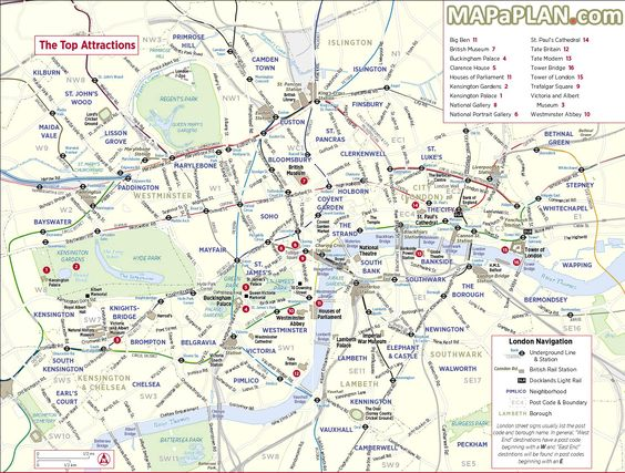 London top tourist attractions map City sightseeing trip planner – Map of Central London Landmarks
