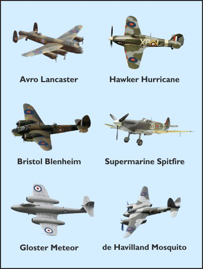 world war two aircraft | British Aircraft of World War II ...