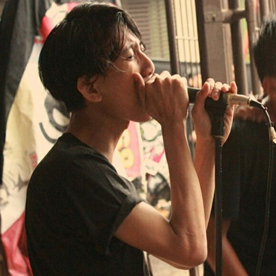 On stage at 3rd Anniversary our bands called MONSTER STUPID FACE