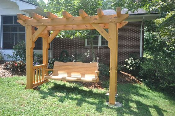 Woodworking Arbor Swing Frame Plans Plans Pdf Download