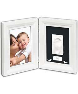 Buy Baby Art Print Frame - White and Black at Argos.co.uk, visit Argos.co.uk to shop online for Photo albums and frames, Christening and new baby gifts