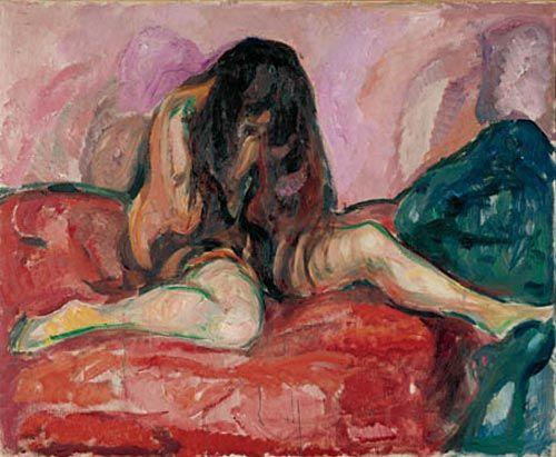 Munch-Weeping Nude