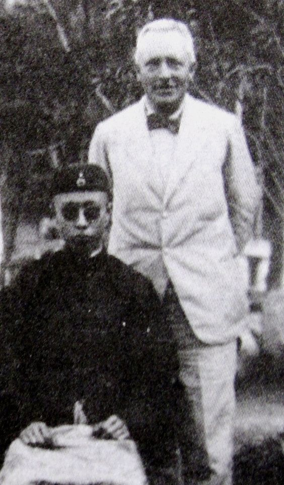 Reginald Fleming Johnston and Emperor Puyi: