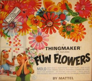 pinterest 60s thing maker | Thingmaker Fun Flowers | 60s & 70s Toys