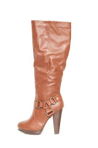 Fab'rik knee-high buckle boots $58
