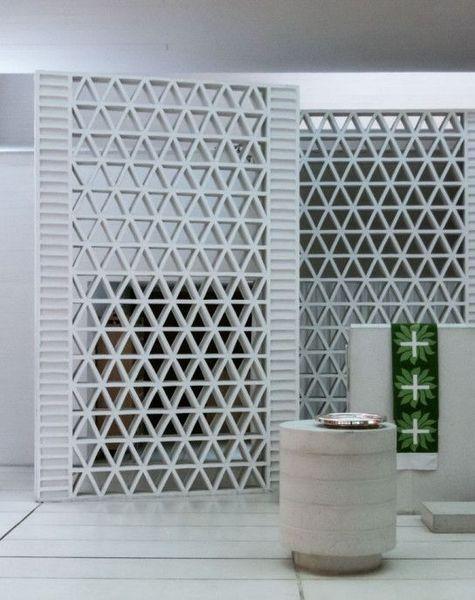 15 Breeze Rock Wall Ideas For Stylish House Ideacoration Co Breeze Block Wall Breeze Blocks Concrete Block Walls