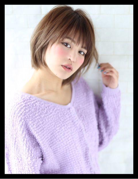 本田翼さん風ショートボブ 短い髪のためのヘアスタイル 美髪