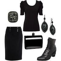 Simple noir style.