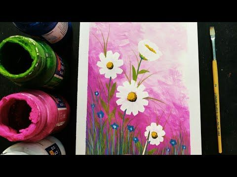 Easy Poster Colour Painting Ideas Youtube Poster Color