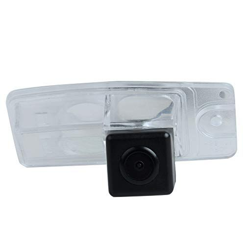 Misayaee Rear View Back Up Reverse Parking Camera in License Plate Lighting Night Version NTSC for Nissan X-Trail X Trail Altima L31 Murano Z50 MK1 Quest V42 Crossover Z52 3TH