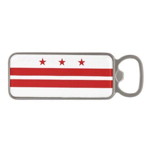Patriotic Washington Dc State Flag Magnetic Bottle Opener Patriotic Washington Dc State Washington Dc Flag