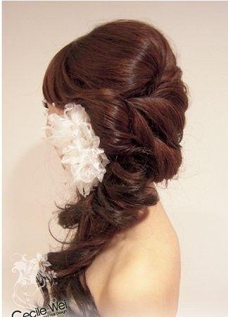 soft casual wedding hair hair-and-makeup