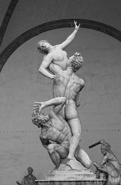 Raub der Sabinerinnen, Giambologna 1529–1608 Spätrenaissance – Frühbarock (Manierismus) #greekstatue Raub der Sabinerinnen, Giambologna 1529–1608 Spätrenaissance – Frühbarock (Manierismus)