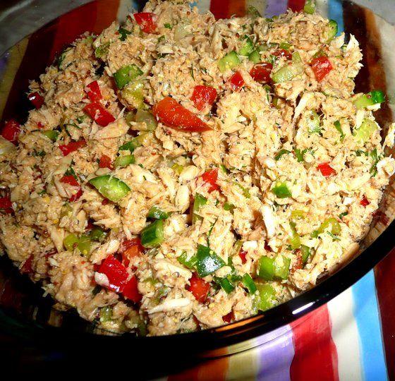 Zingy Tuna Salad #paleo