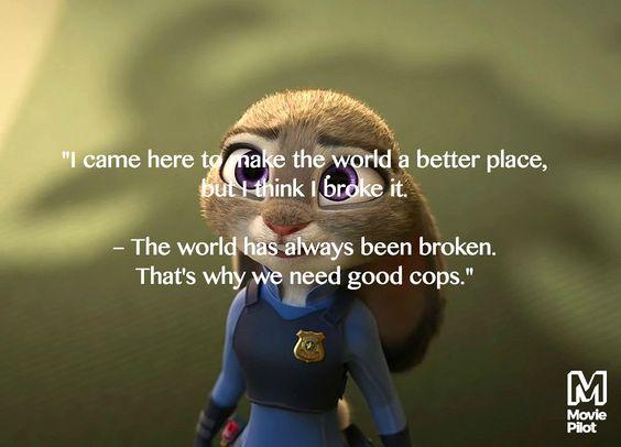 9 Best Inspirational Quotes From \u002639;Zootopia\u002639;  Disney