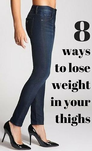 8 Ways to Lose Weight in Your Thighs