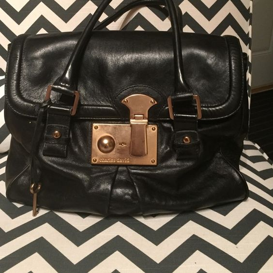 Beautiful Charles David bag Soft beautiful leather.  Very quality bag.  This was a tear jerker for me to post but it's not being used and it deserves to be shown off again!!! Charles David Bags Shoulder Bags