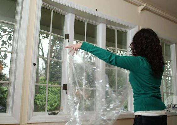 Frugal Fixes for Drafty Windows -- Savings Experiment