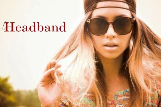 Penteados da moda com headband
