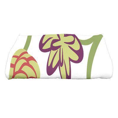 Botanical Blooms Tropical Floral Floral Print Bath Towel   Wayfair