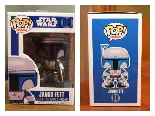 Jango Fett Custom Star Wars Funko Pop Vinyl Figure