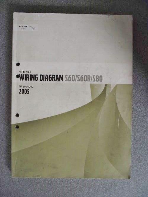 Volvo S60 S60r S80 Wiring Diagrams Manual 2005 Tp3976202 Volvo S60 Volvo Manual Car