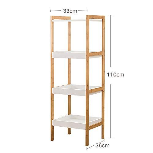 Ajzgf Bookshelf Floor Standing Bookshelf Corner Shelf Solid Wood Partition Storage Rack Size 11033cm Standing Bookshelf Wood Partition Cool Bookshelves