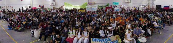 Gigapanorámica de Uruguay 360 realizada en las Jornadas de Intercambio del Programa Empresas Juveniles, de la fundación DESEM.