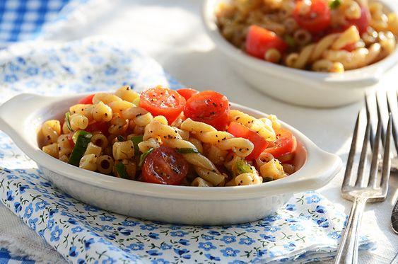 the easiest pasta salad ever