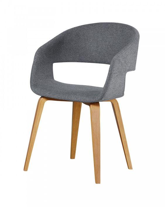 Stuhl »Holstebro« (anthrazit) - Esszimmerstühle - Esszimmermöbel & Küchenmöbel - Möbel - Dänisches Bettenlager