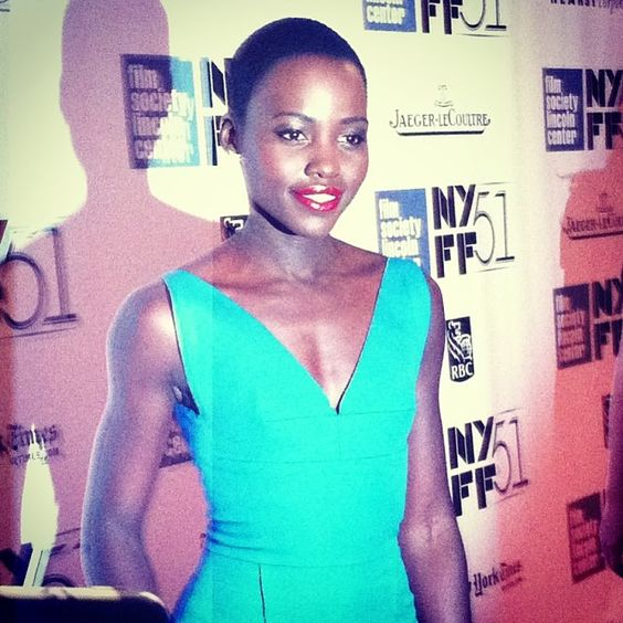 | NYFF | Lupita at the 12 YEARS A SLAVE premiere at the New York Film Festival!