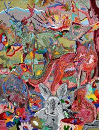 """""""Woodland Friends""""   Artist: Cham Hendon"""