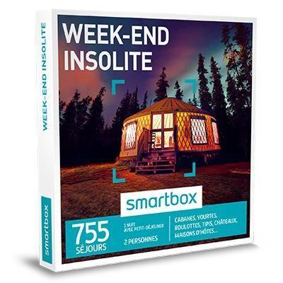 69.90 € ❤ #Smartbox - Coffret #Cadeau #Weekend #insolite - 755 séjours : cabanes, yourtes, roulottes, tipis, châteaux, maisons d'hôtes ➡ https://ad.zanox.com/ppc/?28290640C84663587&ulp=[[http://www.cdiscount.com/livres-bd/coffrets-cadeau/coffret-cadeau-week-end-insolite/f-10594-sma3700583045302.html?refer=zanoxpb&cid=affil&cm_mmc=zanoxpb-_-userid]]