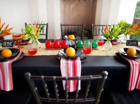 African table decor black history decorations