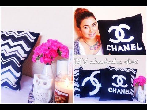 DIY-ALMOHADAS CHIC! /DECORACIÓN