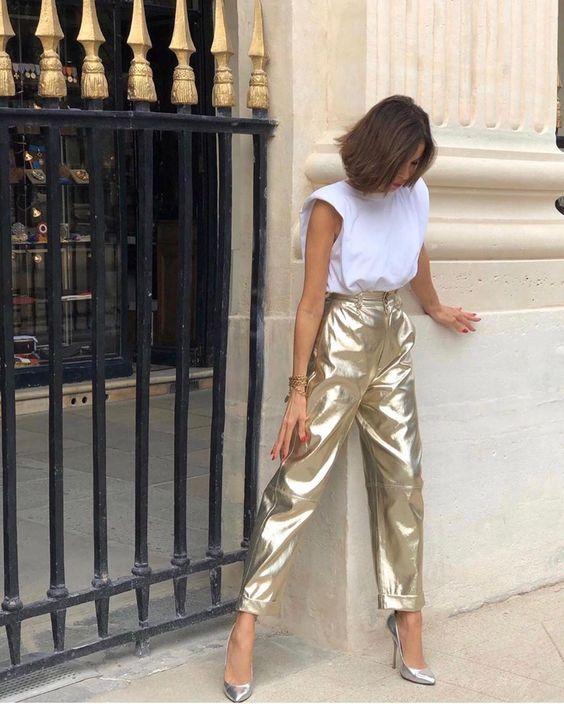 A Comfy, Chic Party Outfit Option