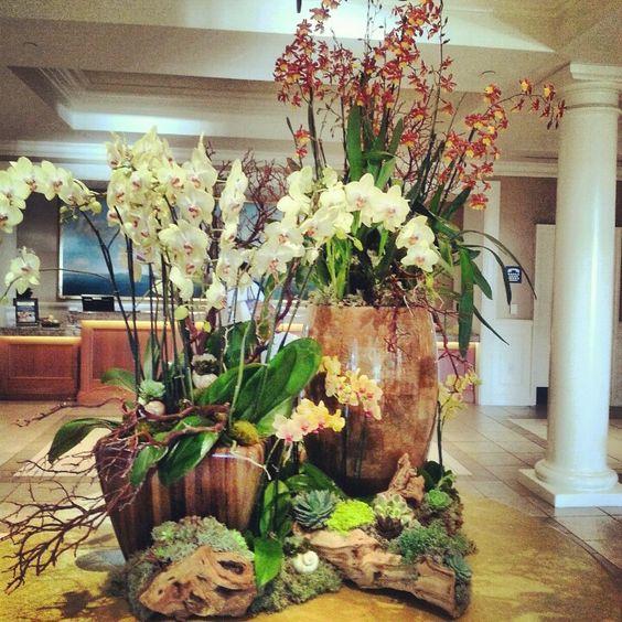 Hotel Foyer Flower Arrangements : Lobby hotel floral arrangements pinterest flower