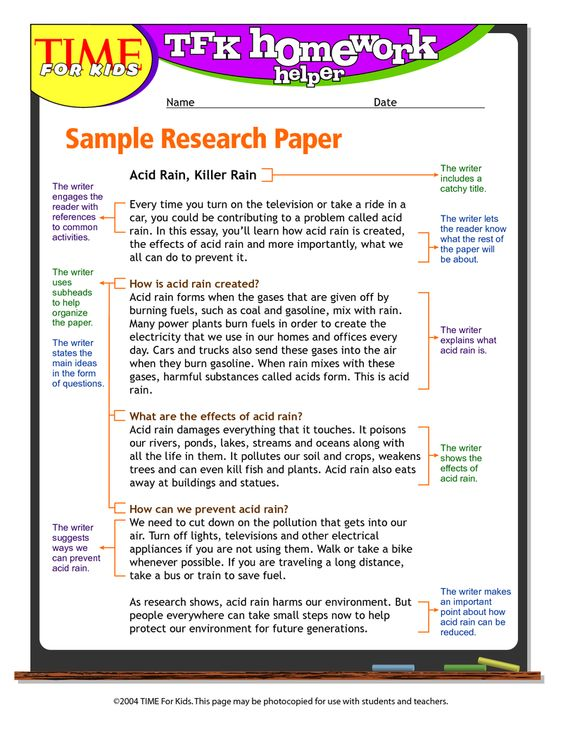 Research paper help by steps high school