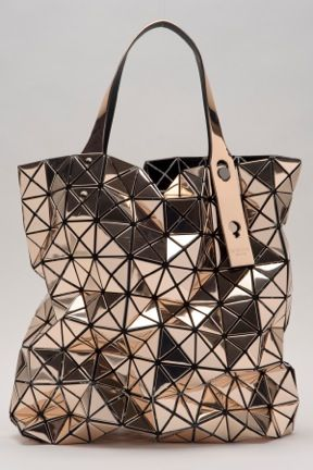 BAO BAO ISSEY MIYAKE Prism Platinum Bag on D Magazine, available at Nest ...