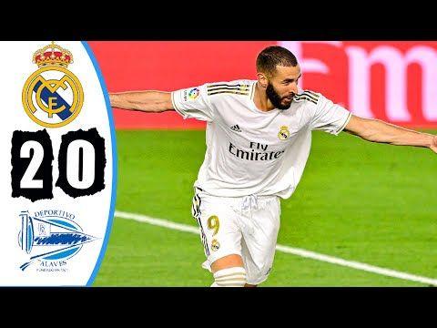 Real Madrid Vs Alaves 2 0 Highlights Goals Resumen Goles 2020 Youtube V 2020 G