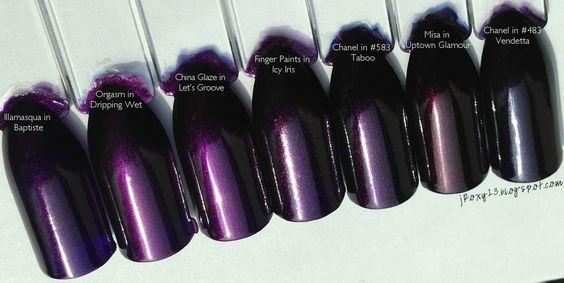 Anny #200 Purple rain | Laquer Mania in Blossom :-))) | Pinterest ...