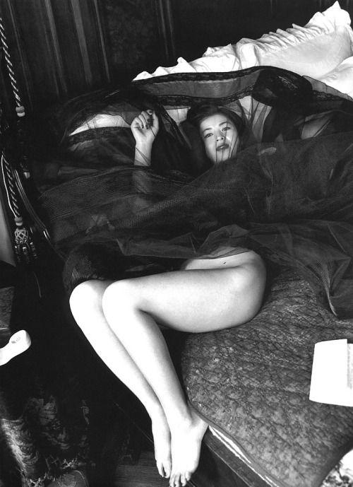 Helmut Newton // 1993 Eri Ishida, For Immorale.