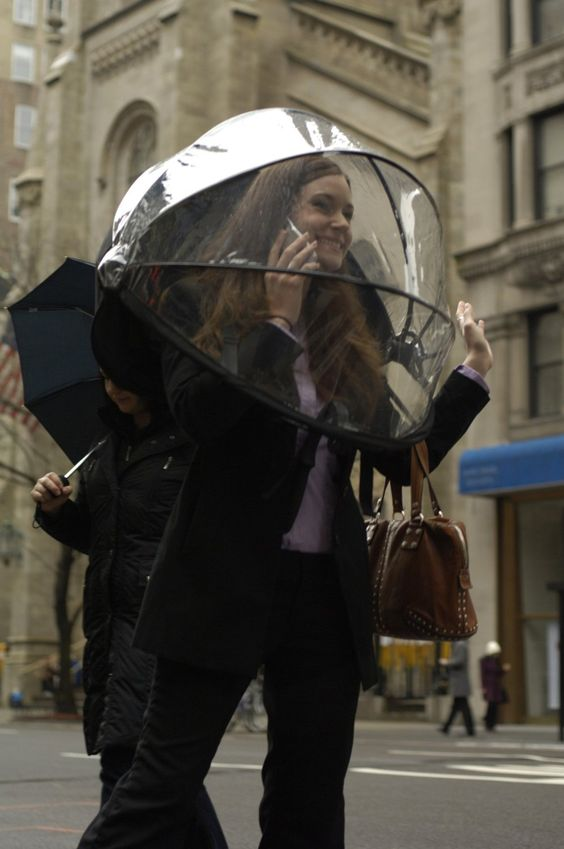 Nubrella - All-Clear - der neue Regenschirm: Amazon.de: Küche & Haushalt