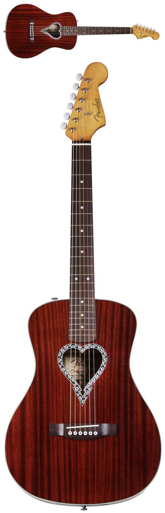 Fender Alkaline Trio Signature Malibu Acoustic Guitar