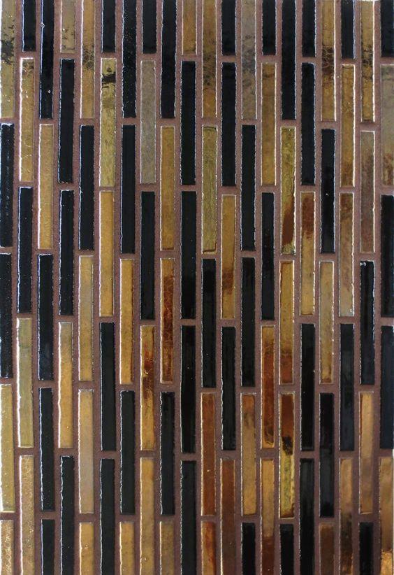 Mercury Mosaics | Stix - 553 Bronze, 613 Black