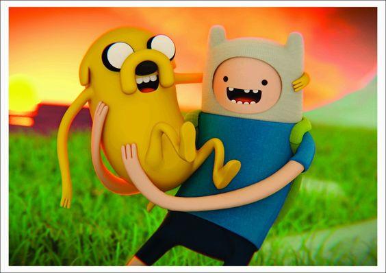 Hora De Aventura Poster Adventure Time Poster Mod03 - 42x30 - R$ 8,50 no MercadoLivre