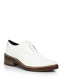 Acne Studios - Carla Leather Lace-Up Oxfords